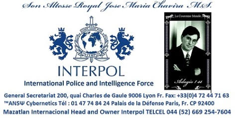 JPG 500 X 250 Font Calabri - New Business Cards for ANSY INTERPOL Boss Son Altesse Royale Jose Maria Chavira MS Adagio 1st