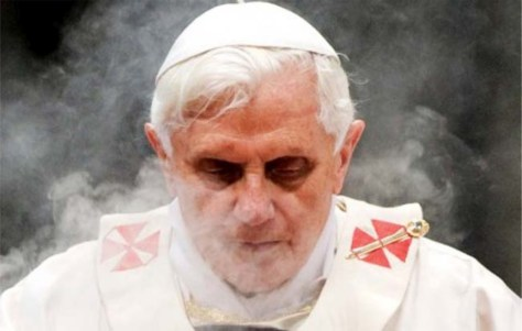 INTERPOL casefiles Pope Benedict XVI Announces His Impending Resignation; What and Who Next...nobody resigns from the papacy unless they did somthing wrong