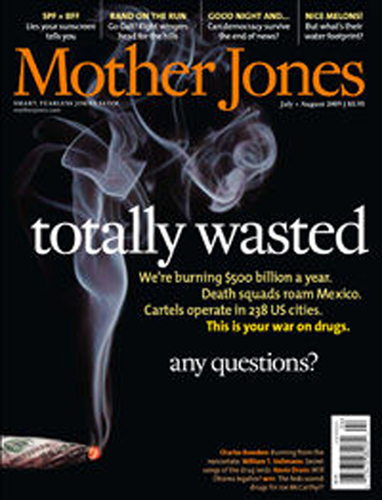 Enlarged Mother Jones Magazine - INTERPOL the Bosses Blog