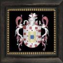 Her Royal Higness Son Altesse Royale Hevis Scarlet Ortíz Pacheco Escuda 1