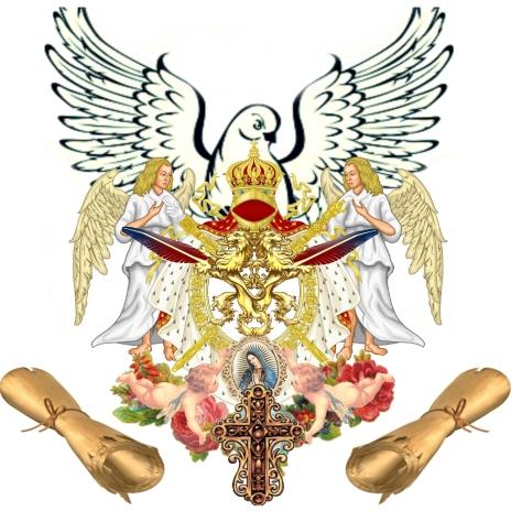JPG Nostre Patre Sanctus Tractatus pacis Versaliae Insigniis