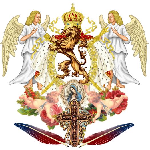 Officie - Nostro Sanctus Pater Blason Son Altesse Royal Jose Maria Chavira MS Adagio 1st Nome de Plume JC Angelcraft