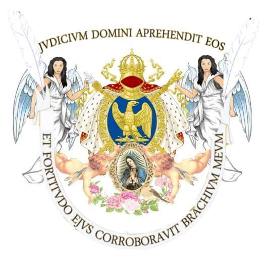 The updated Van Heemstra coat of Arms of her Royal Highness Son Altesse Royal Edda van Heemstra Audrey Kathleen Hepburn Ruston 1st