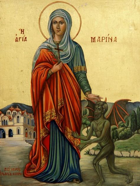 pintura-de-santa-marina-de-la-cede-sanctucs-de-antioch-de-francia-la-vencedora-de-demonios