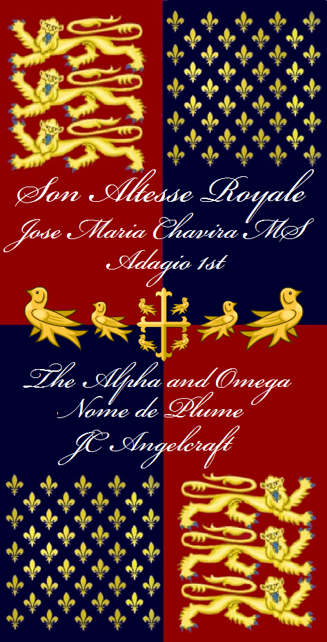 trinity-alpha-omega-sanctus-blason-x-son-altesse-royal-jose-maria-chavira-ms-adagio-1st-nome-de-plume-jc-angelcraft-the-king-of-angels-a-super-duper-rubber-ducky-good-shepard-cross