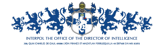 October 2019 General Log: Interpol: Office of the Director of Intelligence