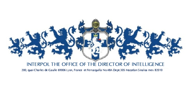 Registro General de Enero de 2020: Interpol: Oficina del Director de Inteligencia